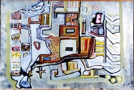 El sueño y la paloma Öleo sobre lienzo 76x50