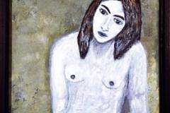 Claudia Óleo sobre tabla 40x60